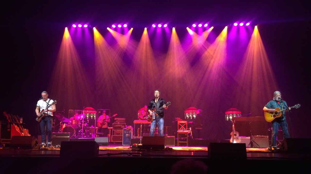 Blue Rodeo on Tour