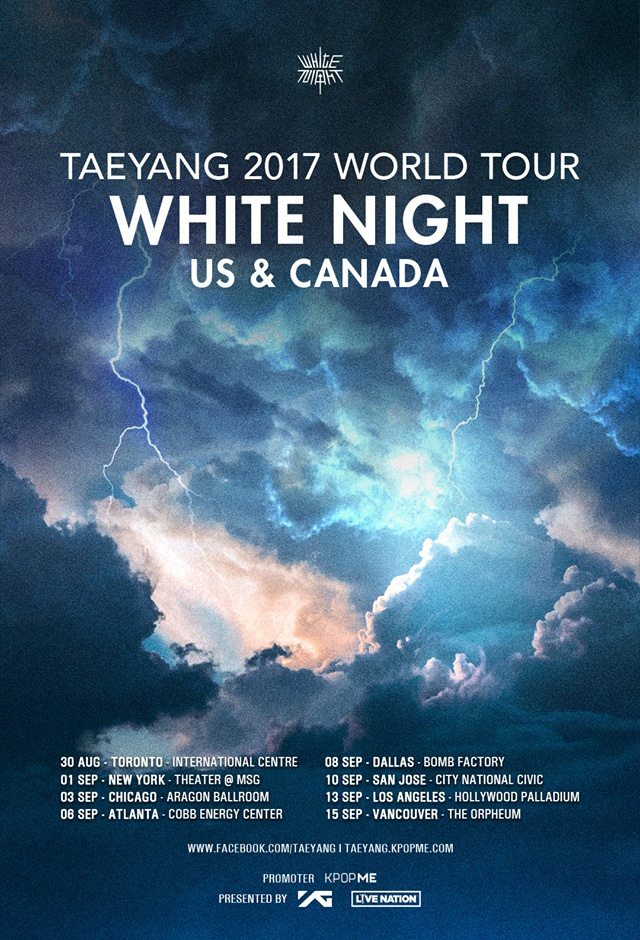 2017, Taeyang (White Night Tour)