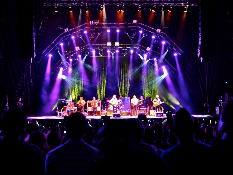 Blue Rodeo Concert at Molson Amphitheatre