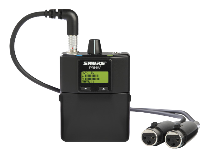 P9HW Wired Personal Monitor by Shure for Sale