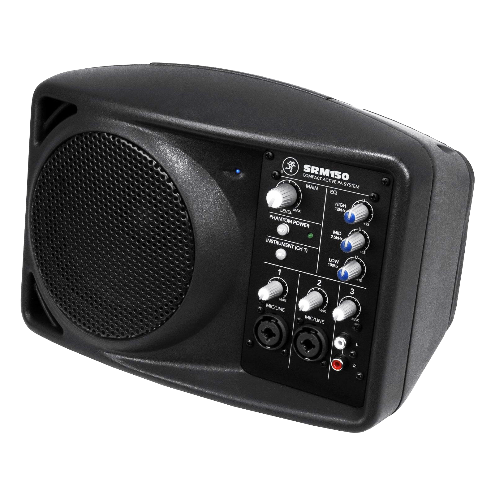 srm150 compact powered pa system by mackie for sale apex sound light corporation. Black Bedroom Furniture Sets. Home Design Ideas