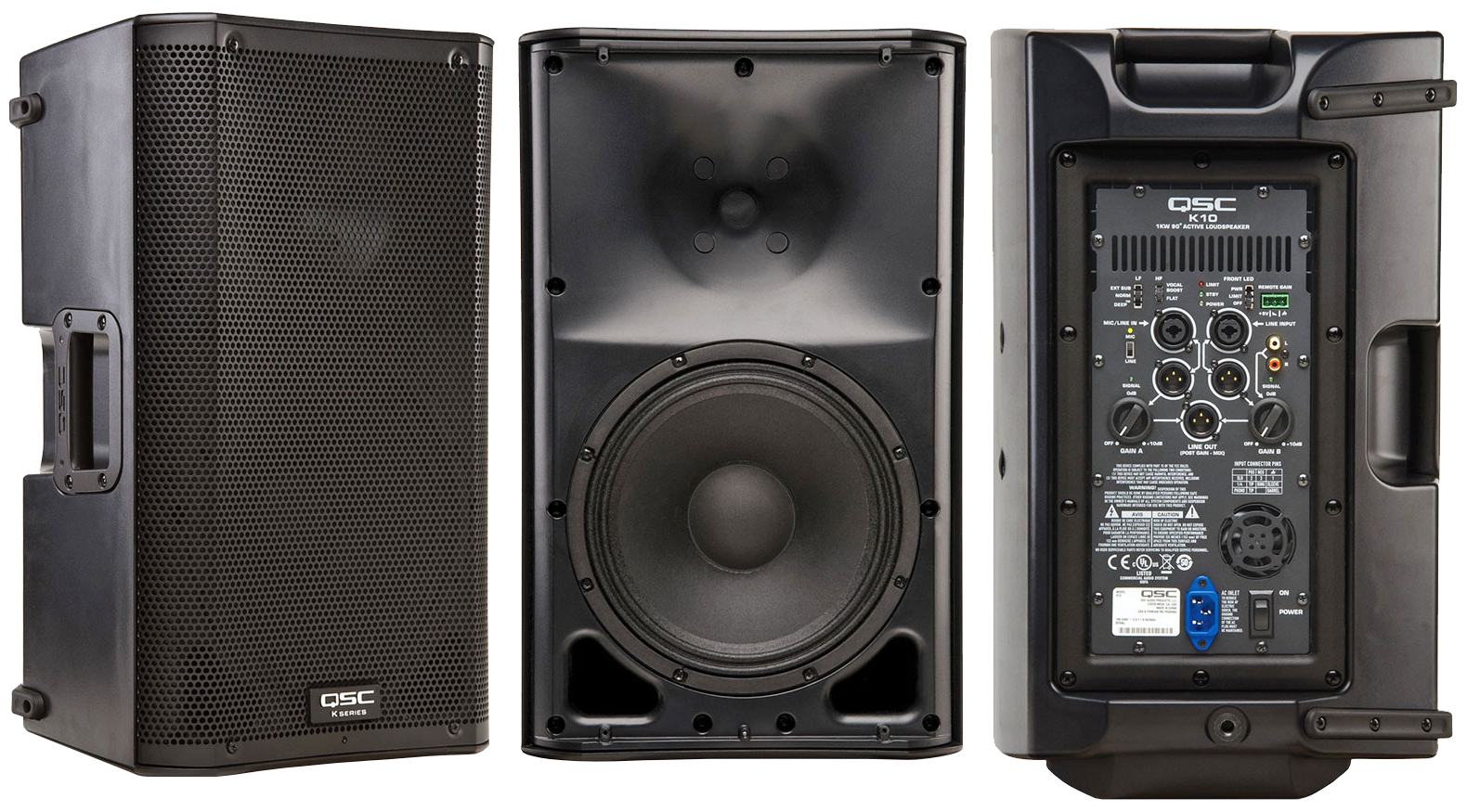 K10 Powered Speaker