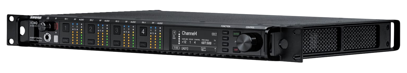 Axient AD4Q Four-Channel Receiver