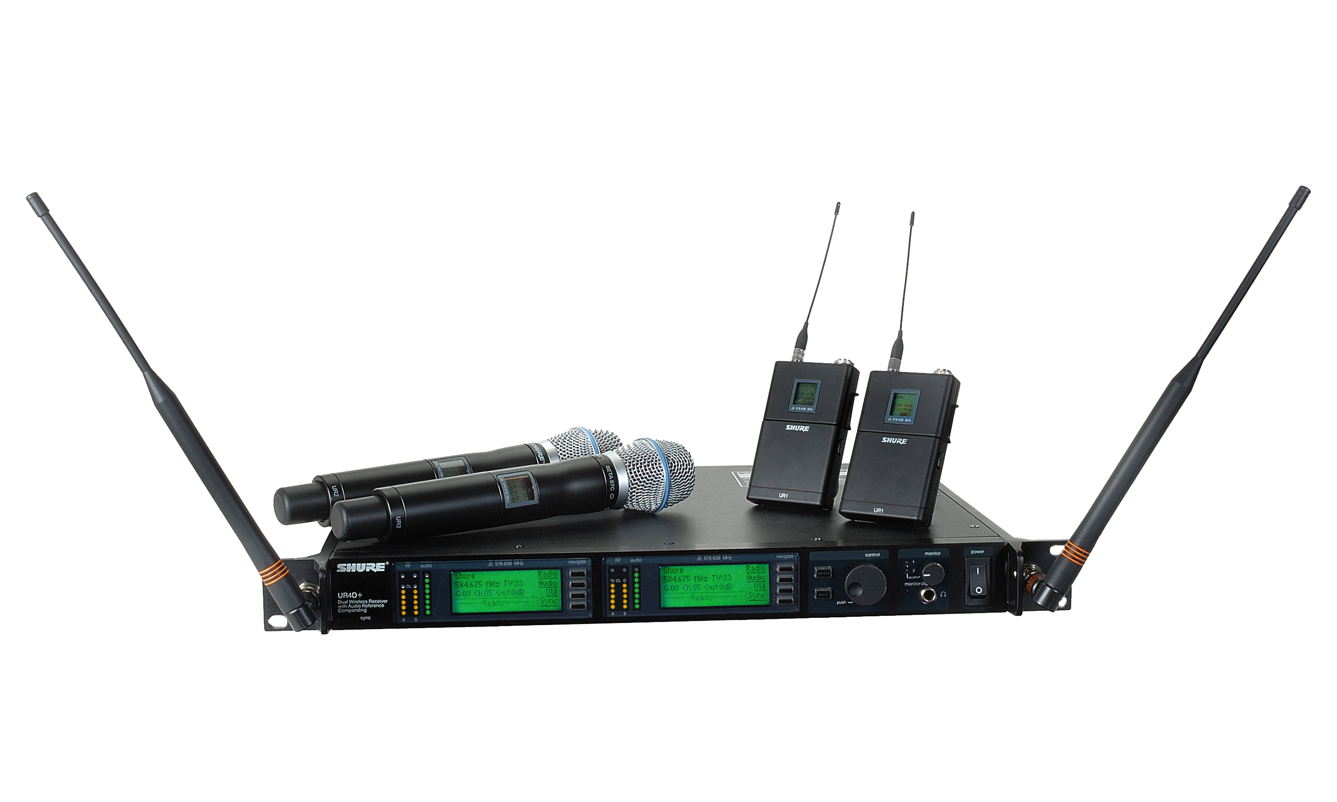UHF-R + Wireless Systems